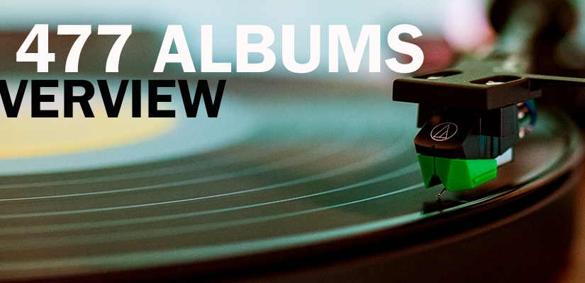 Top 477 Albums | AnOverview
