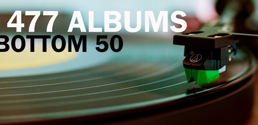 Top 477 Albums | The Bottom50